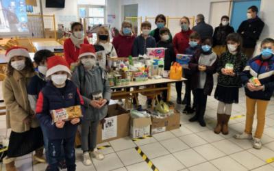 Action caritative auprès du secours catholique