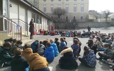 Opération Bol de riz à l'ensemble scolaire Saint Jean Notre Dame