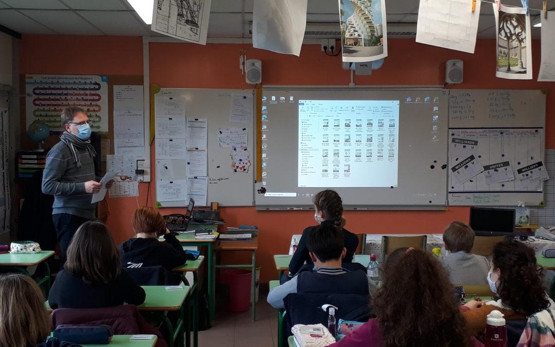 L'architecture expliquée aux élèves de Mme Bezault